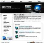 Computers Free Website Template