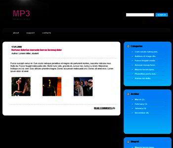 JOOMLA TEMPLATES MUSIC FREE